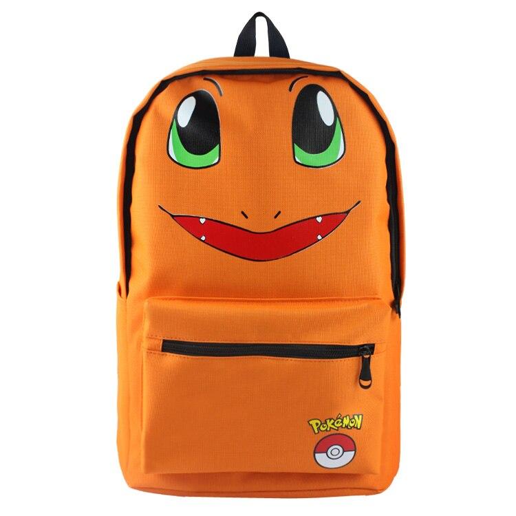 Charmander hátizsák táska iskola könyv táska aranyos rajzfilm - Hátizsákok