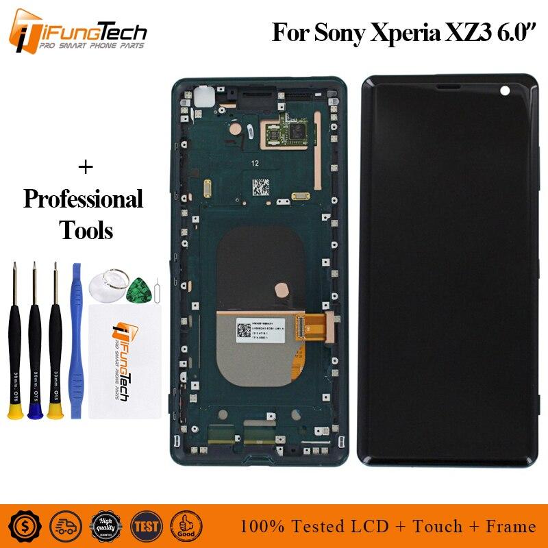 Pour Sony Xperia XZ3 LCD écran tactile numériseur assemblée affichage remplacement pour Sony XZ3 LCD écran avec outils