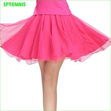 f1e86281fb Woman Dance Running Yoga Tennis Gauze Skirt Plus Size Double Layer Anti- exposure(China