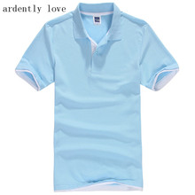 ardently love Brand New Men's Polo Shirt For Men Desiger Polos Men Cotton Short Sleeve shirt clothes jerseys golftennis Plus Siz