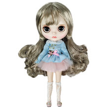 Lifelike Blyth Doll With Joint Body Beautiful Makeup And Dessing BJD Dolls DIY Educational Doll Toys For Children As Bed Toys genuine east charm 1 6 like bjd blyth dolls shou princess with makeup multi purpose joint high quality collection gift toys