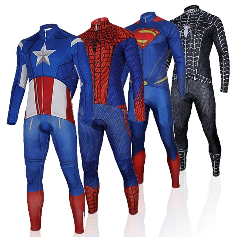 Superhero Pro велосипедтері Джерси ұзын - Велоспорт - фото 1