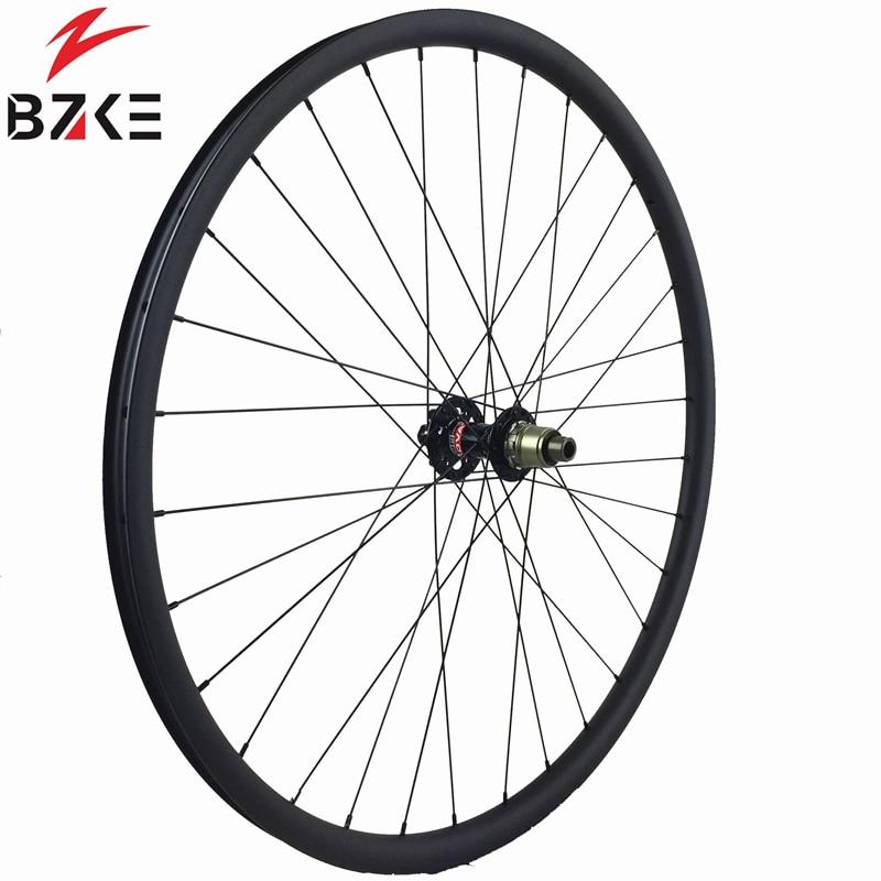 29er carbon mountain bike rim 35mm wide mtb carbon rim for XC AM 3K glossy