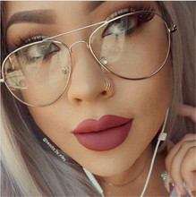 CHUN M51 Classic Clear Glasses Frame Mirror Vintage Sunglass Women Men Optical UV400 Aviation eyeglass Transparent Against Ray