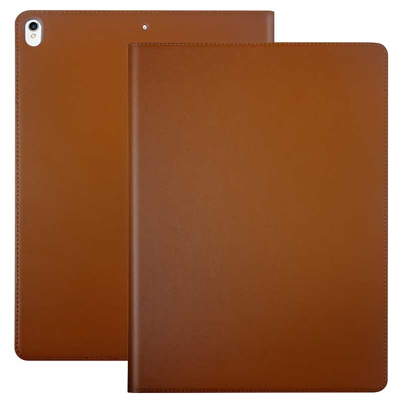 Luxury Cowhide Genuine Leather Case For New Ipad Pro 10.5
