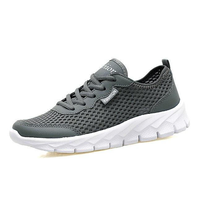 84c93f76f2ae Мужские летние кроссовки женские кроссовки сетки Открытый Спортивная обувь  мужчины износостойкие спортивные тренеры Running Спортивная обувь