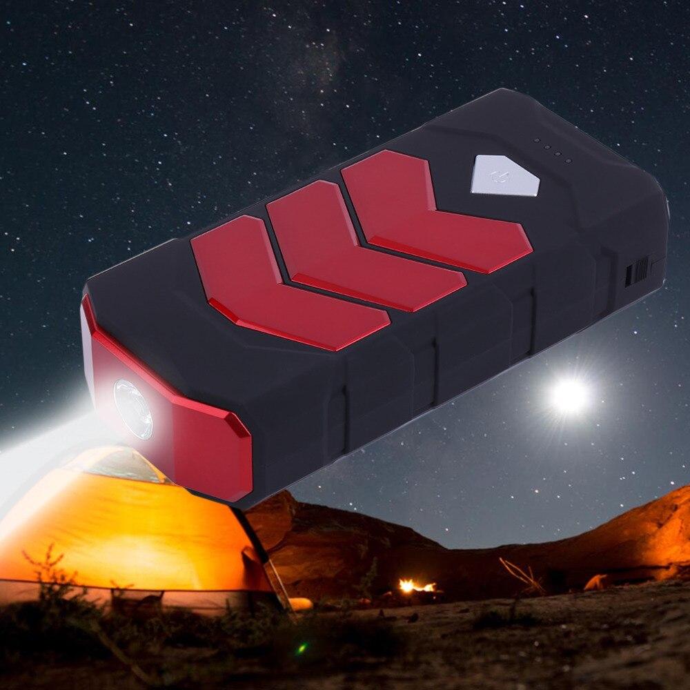 Nuevo 50800 mAh gran capacidad Car Jump Starter Portale tamaño emergencia vehículo Booster Power Bank cargador de batería rojo Venta caliente