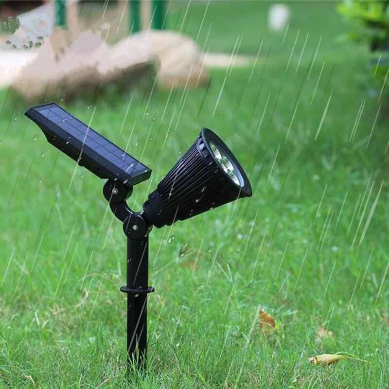 De haute qualité Imperméable À L'eau LED solaire lumière mur lampe Villa Paysage Spotlight jardin Lumière éclairage extérieur