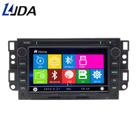 LJDA 2 Din 7 Inch Car DVD Player For Chevrolet Captiva Epica Lova Bluetooth GPS Navigation Radio Multimedia 1080P RDS Maps FM AM