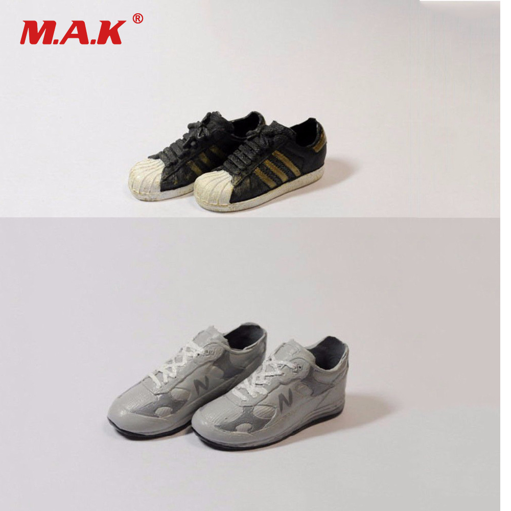 X-TOYS 1//6 SCALE GRAY SPORT Sneakers Shoes for 12/'/' MALE Action Figure