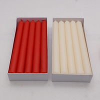Red White Stick Wedding Candle Decoration Flameless Candles Decorative Sparklers for Weddings Party Candel Pillar Candles 5LZ038