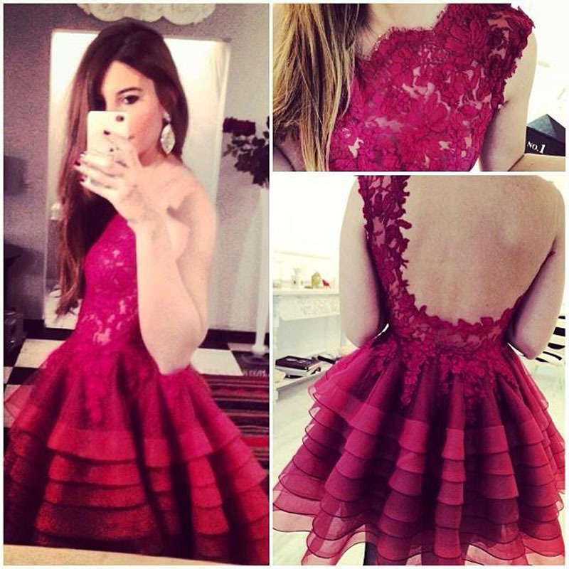 Cupcake prom dresses