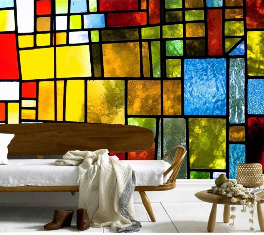Buy custom large murals retro texture - Papel de pared retro ...