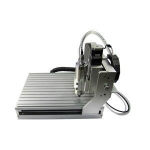 Image 5 - Ly cnc 3040 4 eixos usb Z VFD 1500 w fresadora de madeira do eixo 1.5kw gravador de metal roteador com interruptor de limite