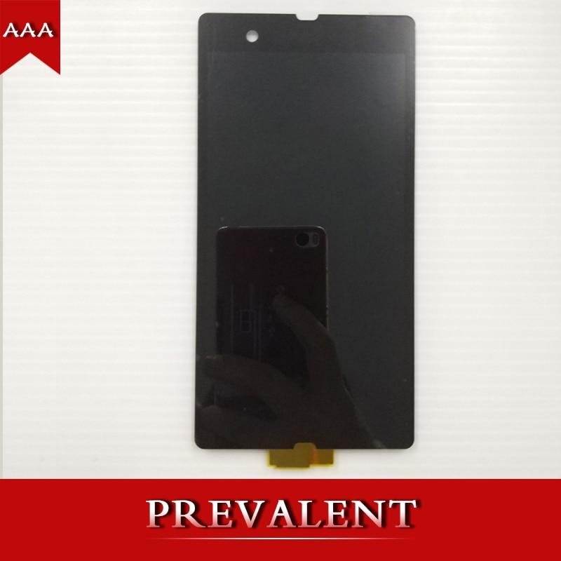 Per Sony Xperia Z L36H L36i C6606 C6603 C6602 C660X C6601 LCD Display Panel + Touch Screen Digitizer Sensore di Vetro montaggio