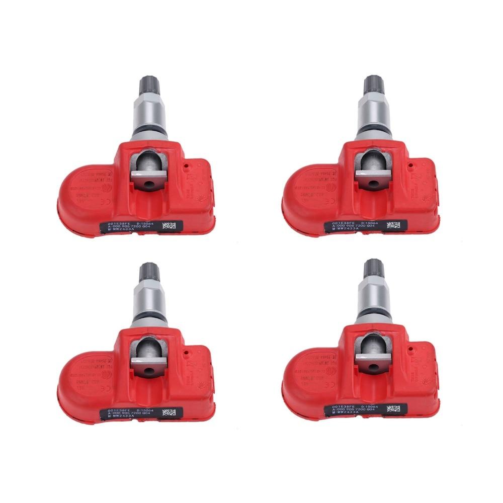 Yetaha 4pcs High Quality Tire Pressure Sensor TPMS Monitoring System A0009057200 For Mercedes Benz C CL