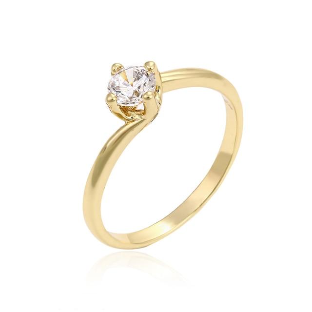 Wedding jewellery designer big rings for women costume jewelry gold