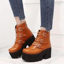 8479611be1d9 Preis auf Goth Schuhe Stiefel Vergleichen - Online Shopping / Buy ...