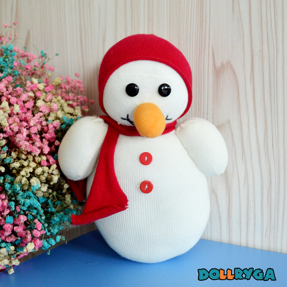Kids Craft DIY Unfinished Doll For Kids And Adults Sewing Sock Puppet Christmas Presents Decorated Christmas Tree DOLLRYGA Doll