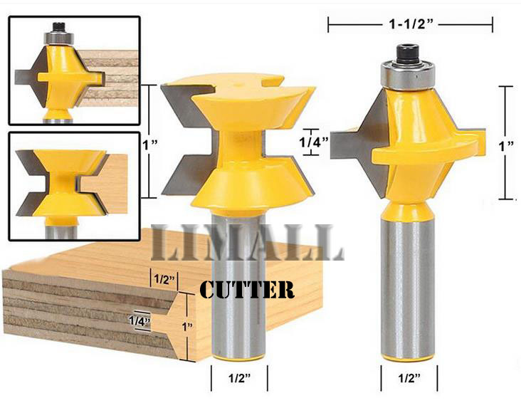 SHK-1/2 -120degree handle high-grade woodworking cutter knife tenon fit mosaic puzzle knife blade chisel milling gong Cutters shk 1 2 1 2 cutting width 4 blades tenon cutter bevel gear knife woodworking milling cutter