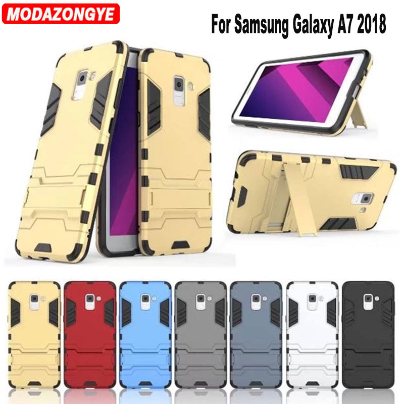 For <font><b>Samsung</b></font> Galaxy <font><b>A7</b></font> <font><b>2018</b></font> <font><b>Case</b></font> 5.7'' Hybrid Silicone + TPU Cover Phone <font><b>Case</b></font> For <font><b>Samsung</b></font> Galaxy <font><b>A7</b></font> <font><b>2018</b></font> <font><b>A730F</b></font> A730 SM-<font><b>A730F</b></font> <font><b>Case</b></font> image
