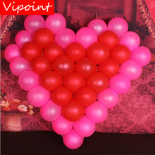 VIPOINT PARTY 200pcs 5inch red pink white latex balloons wedding event christmas halloween festival birthday party HY-375