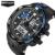 Esporte moda Super Cool men Quartz Relógio Digital Homens Relógios Desportivos SANDA LED Marca de Luxo Militar relógios de Pulso À Prova D' Água