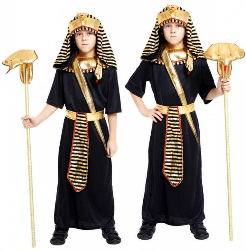 Childrenu0027s Egyptian Pharaoh Cosplay Halloween Custume Boys Party Dressing Masquerade Costumes Boys Stage Performing Clothing-in Kids Costumes u0026 Accessories ...  sc 1 st  AliExpress.com & Childrenu0027s Egyptian Pharaoh Cosplay Halloween Custume Boys Party ...