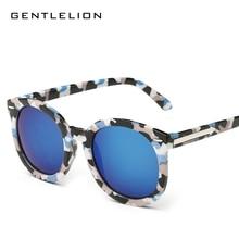 Clásico de la manera Marcas de Diseño gafas de Sol Redondas Mujeres Flechas de Metal de Gran Tamaño gafas de Sol UV400 gafas De Sol Oculos Feminino 9711