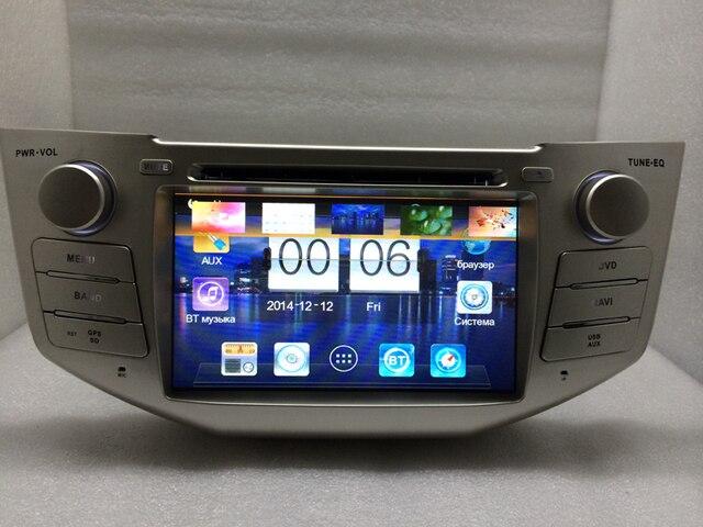 7 pulgadas de dvd del coche/coche de radio adecuado para lexus rx330/350 2005,2006, 2007,2008, 2009 (canbus opcional) el Envío Gratuito!