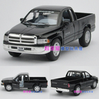 Candice guo! Scale 1:44 KINSMART cool mini Dodge ram pickup alloy model car toy good for gift 1pc
