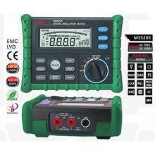 Promo offer MS5205 Insulation Tester Megger 100.0G MegOhm Meter DC 250/500/1000/2500V AC750V