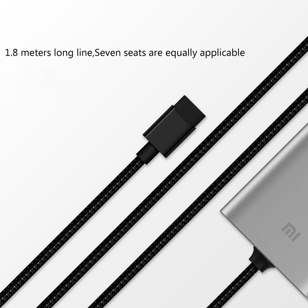 Image 4 - Original Xiaomi Car Charger QC3.0 Fast Version Extended Accessory USB A USB C Dual Port Output Smartdual portqc3.0 chargercharger xiaomi original -