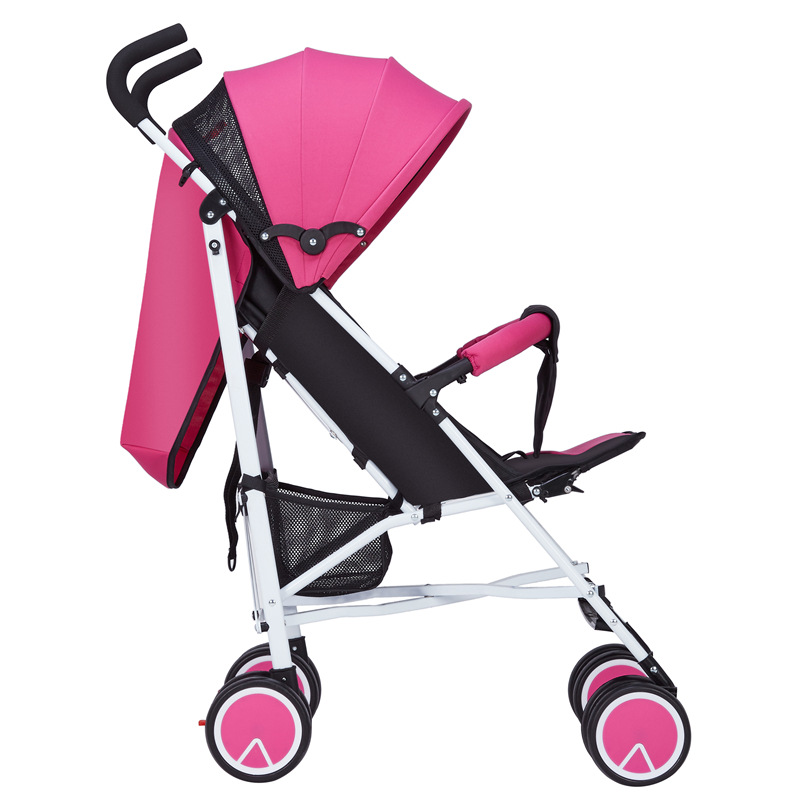Lightweight Baby Strollers Four wheel Trolley High Landscape Baby Stroller Folding Portable Baby Carrier Cart Umbrella Stroller