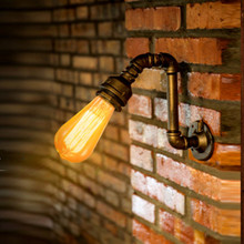 Water Pipe Vintage Wall Light Fxitures Loft Industrial Lamp Edison Wall Sconce Indoor Lighting Arandela De Pareded-FJ-DB2-013A0
