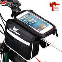 Bolsa de bicicleta bolsa bicicleta teléfono bolsa bicicleta embalaje bicicleta bolsa vtt velo accesorios de equipaje