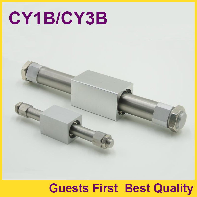 CY1B15-600 Basic type Magnetically Coupled Rodless Cylinder Pneumatic Air Cylinder CY1B15-700 CY1B15-800 CY1B15-900 CY1B15-1000 cy1s 10mm bore air slide type cylinder pneumatic magnetically smc type compress air parts coupled rodless cylinder parts sanmin
