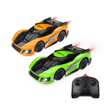 RC Wall Climbing Car Remote Control Anti Gravity Ceiling Racing Stunt Car Electric Toys Machine Auto Gift for Children RC Car mini rc powerlead page remote control wall climbing rc car