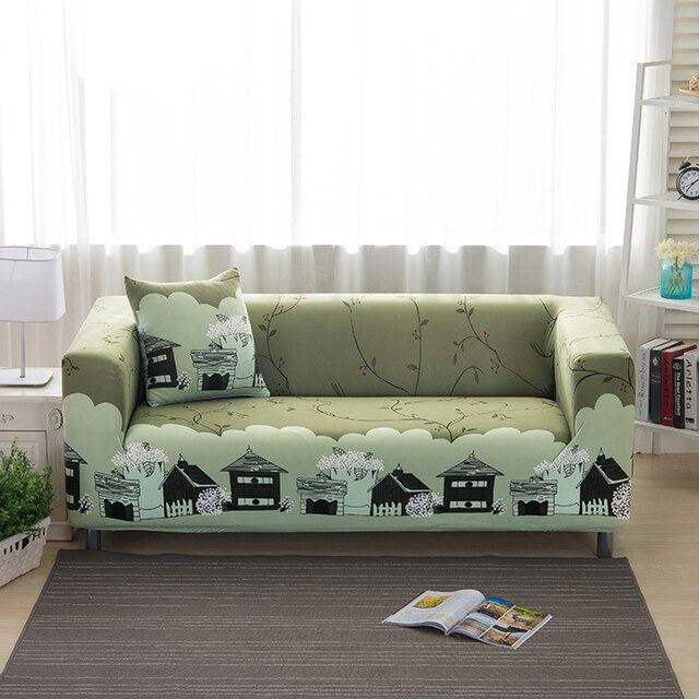 Varmhus 1 2 3 4 Seater Elastic Sofa Cover Spring Print Slipcovers