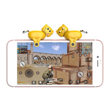 1 Pair Spring Handle Mobile Game Shooter Controller Universa