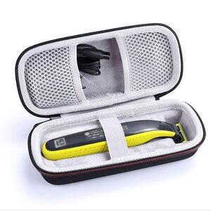 Image 5 - Защитный Портативный чехол для Philips OneBlade, триммер, бритва, бритвенный контейнер для хранения, чехол на молнии с подкладкой