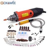 170pcs Mini Drill Electric Power Tools Rotary Tools Accessories Drill Bits Flex Shaft Abrasive Discs Sanding