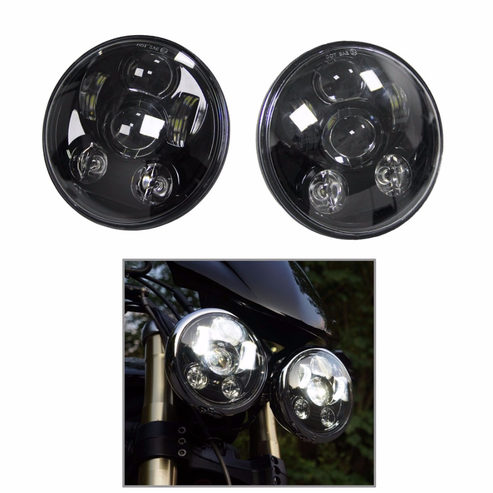 5 75 Inch Led Headlights For Triumph Rocket iii 3 Speed Triple Street Triple 2