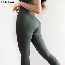 Women fitness sport legging push up scrunch yoga pants seamless gym leggings workout athletic legging squat proof jogging tights