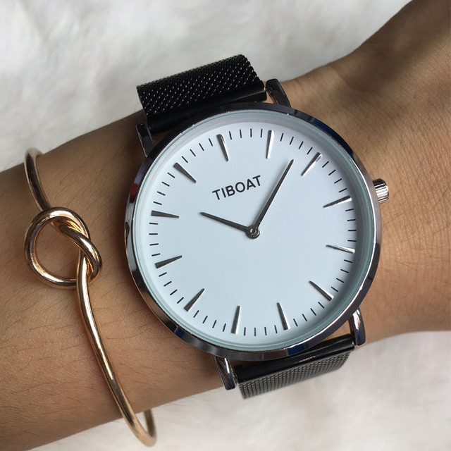TIBOAT moda minimalista reloj hombres Japón movimiento de cuarzo de alta  calidad relojes de los hombres e9a27a0e5014