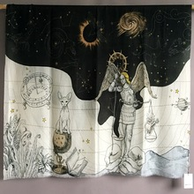 Foulard en cachemire pour femmes, Constellation de marque de luxe, Pashmina, bandana, 110x200cm