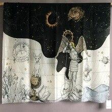 Lenço de caxemira constelação feminina marca de luxo designer pashmina cachecóis bandanas xales envolve 110*200cm