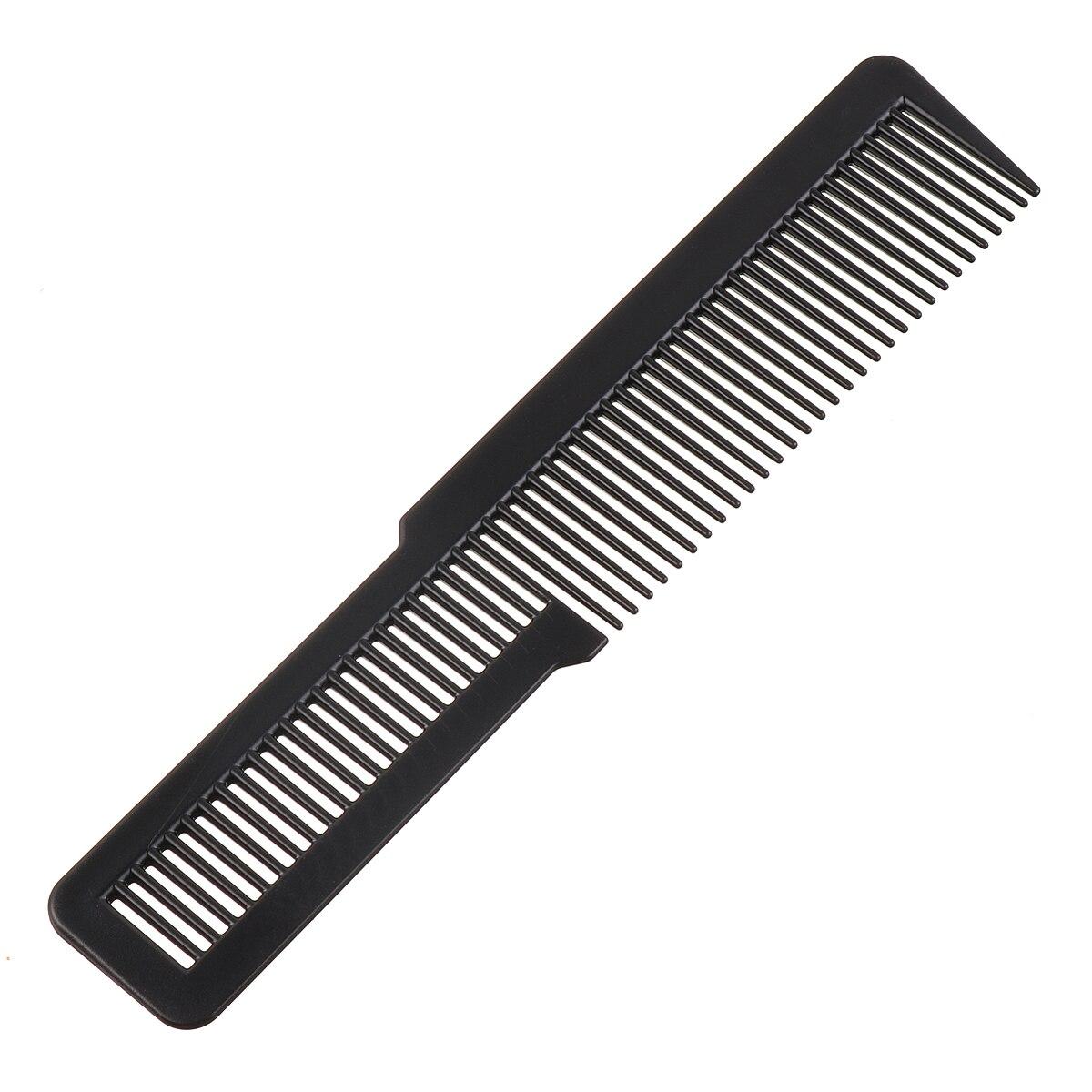1 unid Pro salón peluquería plástico Clipper peine nuevo diseño duradero peluquería recorte peine herramienta de la peluquería