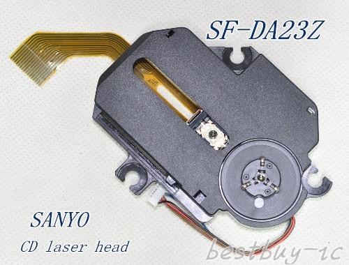 वॉकमैन सीडी लेजर हेड SF-DA23 SF-DA23Z कुटिल चौड़ी लाइन के लिए पोर्टेबल सीडी लेजर HEAD (DA23) CD-DECH SF-P200 ऑप्टिक पिक अप