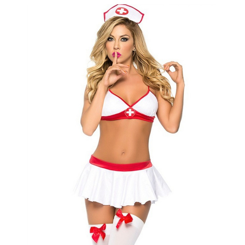 In Perfect Health Sexy Nurse Costume
